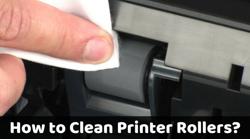 How to clean printer rollers_