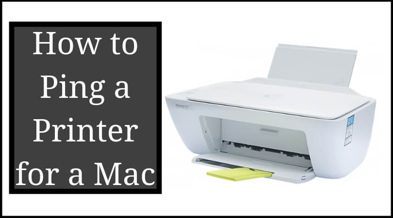 How to Ping a Printer for a Mac