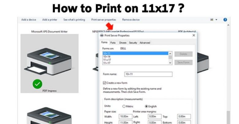 How to Print on 11x17
