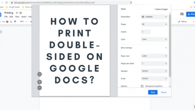 How to print double-sided on google docs