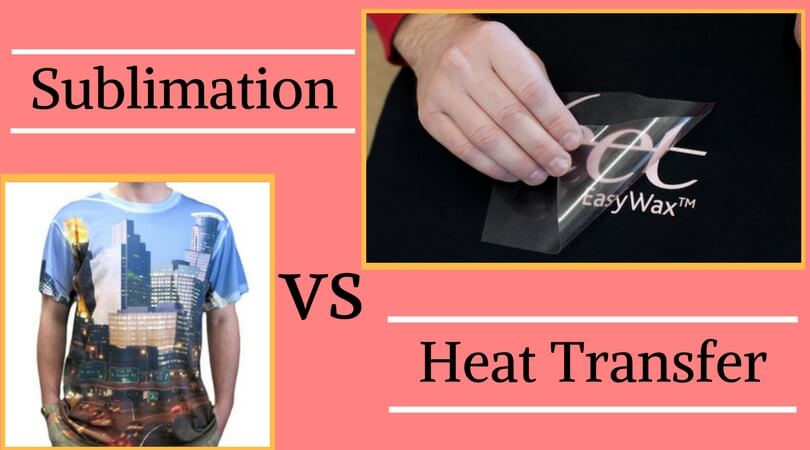 Sublimation VS Heat Transfer