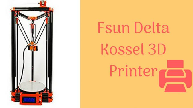 Flsun Delta Kossel 3D Printer