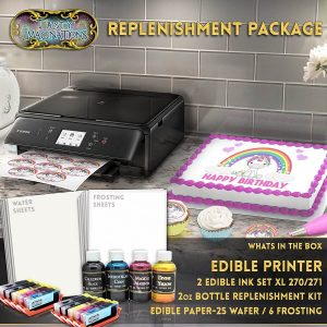 Tasty Imaginations Canon LCD Edible Printer Bundle